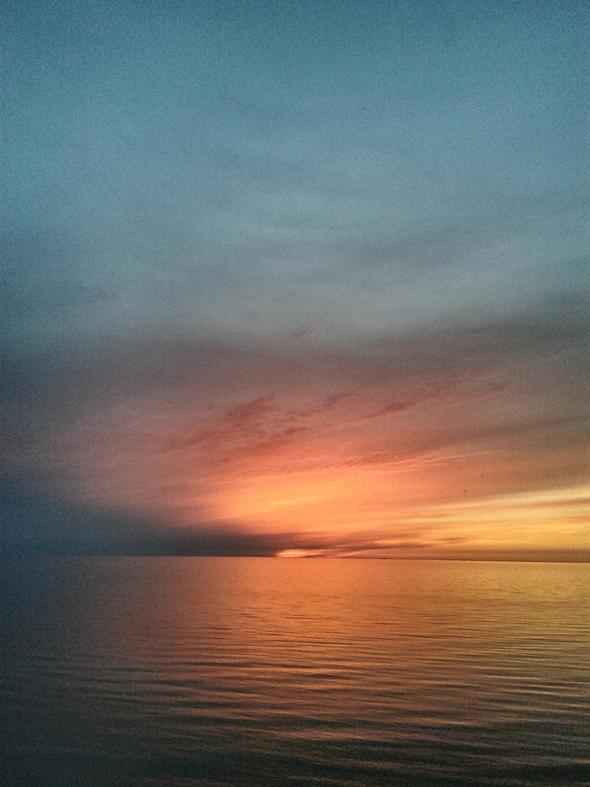 Sonnenuntergang Ostseebad Wustrow