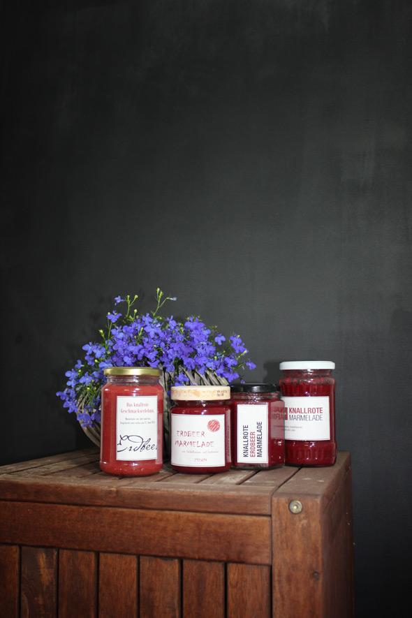Erdbeermarmelade selber kochen
